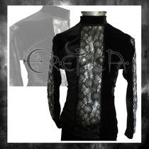 Camisa Terciopelo Eretica Ropa Dark,gotico,metalero.hombre 3