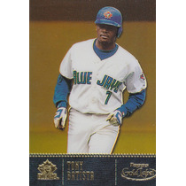 2001 Topps Gold Label Gold Tony Batista Blue Jays /999