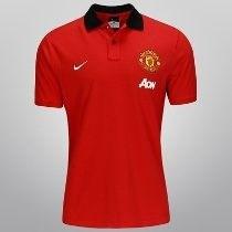 Manchester United Playera Tipo Polo Marca Nike Talla Media