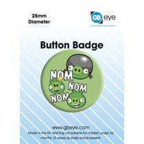Angry Birds Placa - Nom Nom Nom 25mm Fun Novelty Gaming