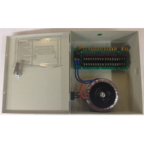 F24v10a18p - Fuente De Poder 24v Ac 10 Amperes Con Distribui
