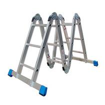 Escalera Multiposiciones Aluminio Peldaños