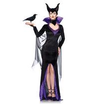 Disfraz Mujer Malefica Bruja Sexy Disney Halloween Adulto