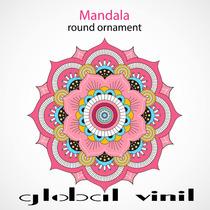 Mandala Decoracion Para Tu Pared Vinil - Envio Gratis