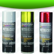 Pintura Metalcast En Aerosol 8 Colores Profesional Duplicolo