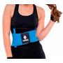 Faja Cinturilla Tecnomed Belt Fitness Azul Colombiana