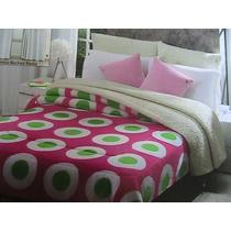 Cobertor Con Borrega, Bubble Gum De Concord