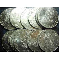 Moneda 5 Pesos Vicente Guerrero Niquel Condición Usado