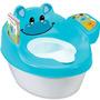 Baño Entrenador Bacinica Bebe 3 En 1 Hippo Tales Potty