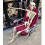 Esqueleto Tama�o Real Decorativo Para Adornar Halloween