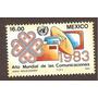 Mexico 1983 Año Mundial De Las Comunicaciones