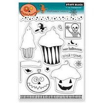 Sellos Transparentes Penny Black Halloween Para Manualidades