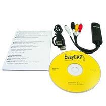 Easycap Tarjeta Capturadora Usb De Audio Video Vhs Win 7