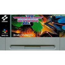 Gradius 3 Super Nintendo Japonesa