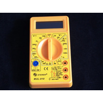 Multimetro Mul-010 Medicion (10a Ca / 1000v Ac / 750v - Dc)