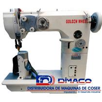 Máquina Poste 1 Aguja,gancho Jumbo, Golden Wheel Cs-8813l