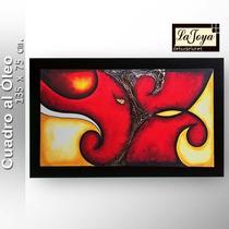 Ccuadros Decorativos Al Óleo Abstractos
