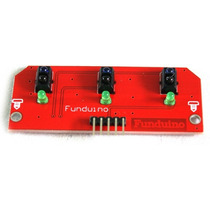 Sensor Sigue-lineas De 3 Canales Trt5000 Arduino Atmega Pic