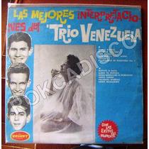 Bolero, Trio Venezuela, Lp 12´, Hecho En Venezuela