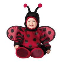 Disfraz Bebe Catarina Mariquita Niño Niña Halloween