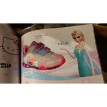 Tenis Disney Frozen Para Niña
