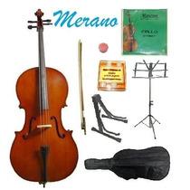 Violonchelo Chelo Violoncelo + Accesorios 4/4 Musica