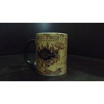 Taza Magica Mapa Del Merodeador Harry Potter