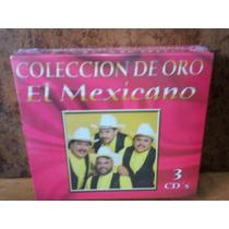 Banda El Mexicano. Coleccion De Oro. 3cd.