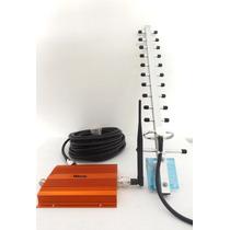 Antena Amplificadora Señal Celular Telcel 3g Movistar 2g Hm4