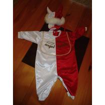 Disfraz Halloween Unisex Angel-demonio Talla 3-6m