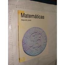 Libro Año 1995 , Matematicas Segundo Grado , 175 Paginas