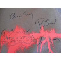 Apocalyptica Playera - Autografiado Mexico Tour 2005
