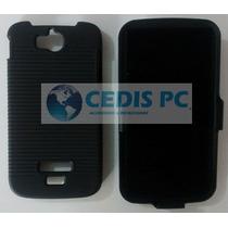 Funda Clip (holster Case Combo) Lanix S400 Ilium Mica Grati