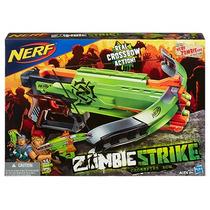 Nerf Crossfire Bow Ballesta Zombie Strike 22m Dist. 4 Dardos