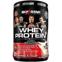 Six Star Pro Nutrition Elite Series De Proteína De Suero En