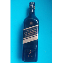 Botella Vacia Johnnie Walker Double Black Buena Hm4