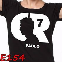 Playera Real Madrid Cristiano Ronaldo Cr7 Personalizada E154