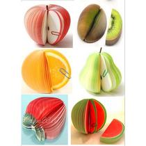 5 Libretas Tipo Post It En Forma De Frutas Hm4
