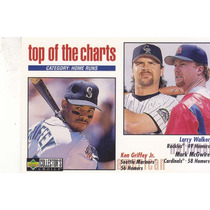 1998 Choice Top Charts Ken Griffey Jr Larry Walker