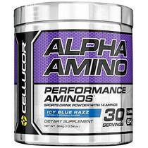 Suplemento Cellucor Ácido Alfa Amino Con Bcaa Azul Helado Ra