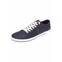 Tommy Hilfiger Harry Denim Tenis Casuales En 25 Mex