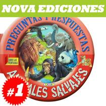 Animales Salvajes, Preguntas Y Respuestas. Nuevo Y Original