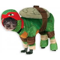 Disfraz Tortuga Ninja Rafael Mascota Perro Disfraces Hm4
