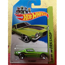 Hot Wheels 70 Camaro Verde