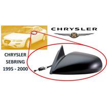 95-00 Chrysler Sebring Coupe Espejo Lateral Manual Izquierdo