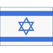 Bandera De Israel. Hecha En Israel