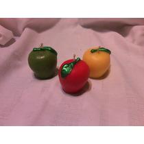 12 Manzanas Rojas,vela,velas Decorativa Y Aromaticas Mn4