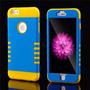 Hybrid Armor Heavy Duty Funda Iphone 6 6s Amarillo Azul