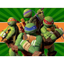 Kit Imprimible Tortugas Ninjas Diseña Tarjetas Y Mas