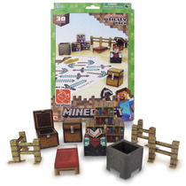 Tb Minecraft Papercraft Utility Pack, Over 30 Pieces